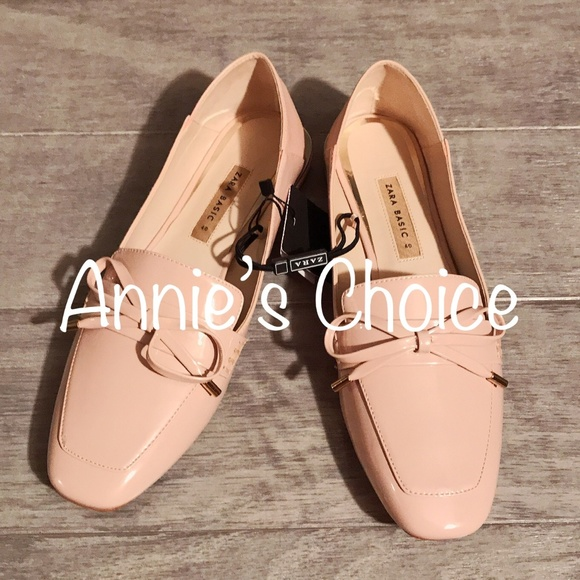 39e16dfc9b38 ZARA Flat Shoes Pink